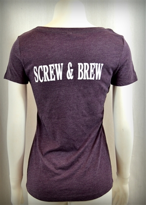 Screw and Brew Ladies Tee