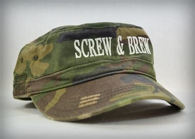 Distress Military Hat