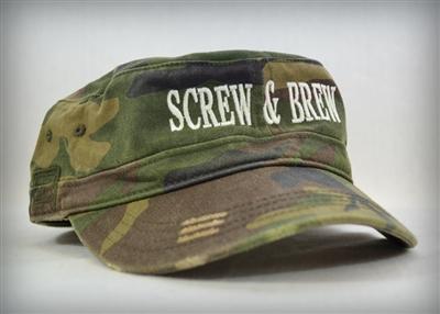 Distress Military Hat